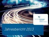 Jahresbericht 2013 des IAW