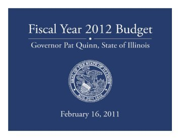 Budget Briefing (PDF) - State of Illinois