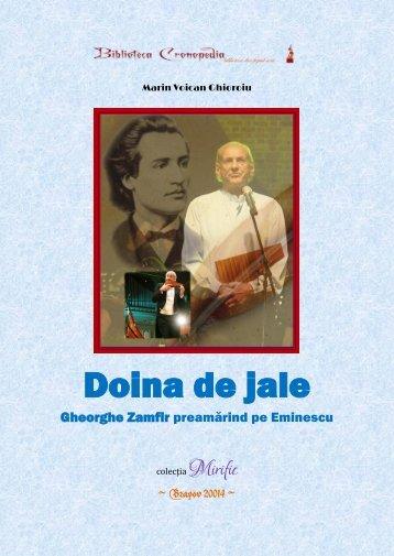 Marin Voican Ghioroiu - Doina de jale - Gheorghe Zamfir preamărind pe Eminescu