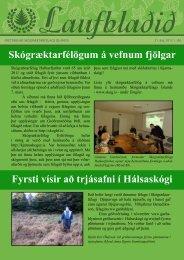 Laufblaðið - Fréttablað Skógræktarfélags Íslands 2