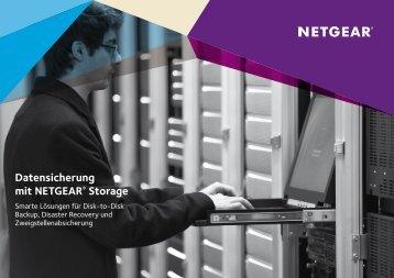 Datensicherung mit NETGEAR Storage