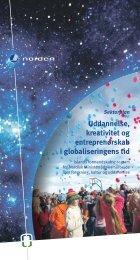 uddannelse, kreativitet og entreprenørskab i globaliseringens tid