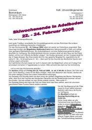 24. Februar 2008 - Borromäum