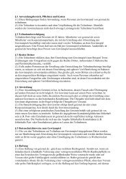 (1.) Diese Bedingungen finden Anwendung, wenn ... - Go Israel