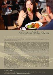 Gourmet und Wein Reise - Go Israel