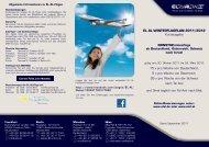 Winterflugplan der EL AL - Go Israel