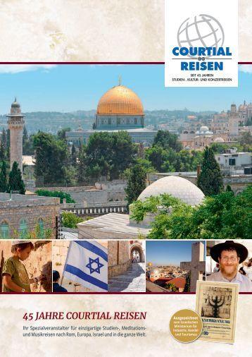 45 JAHRE COURTIAL REISEN - Go Israel