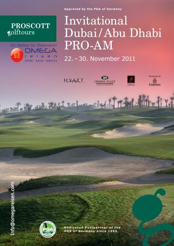 Invitational Dubai / Abu Dhabi PRO-AM