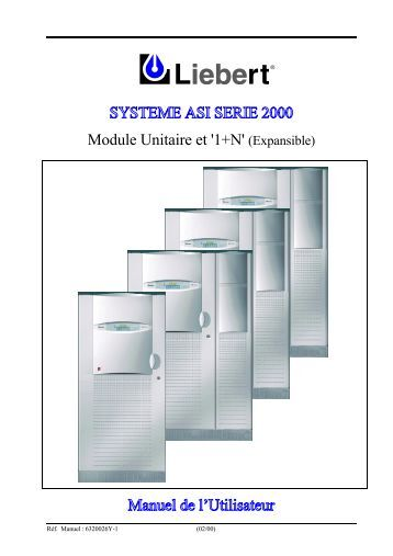 SYSTEME ASI SERIE 2000 Module Unitaire et '1+N ... - Onduleurs