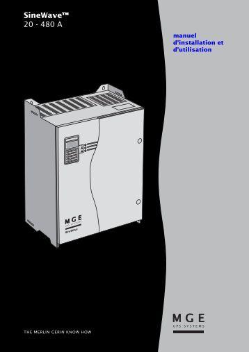 SineWave™ 20 - 480 A - Onduleurs