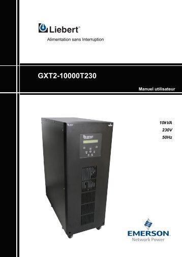 GXT2-10000T230 - Onduleurs