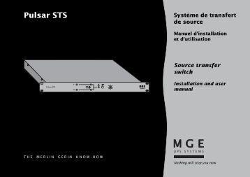 Pulsar STS - Onduleurs