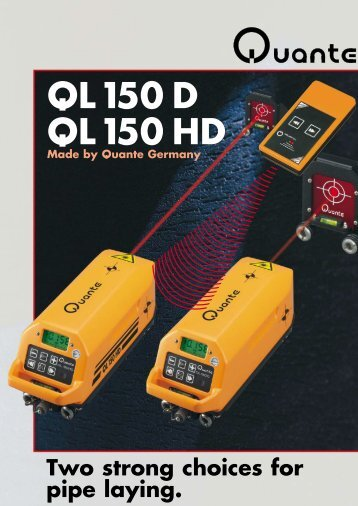 QL 150 D QL 150 HD - Precision Laser Systems