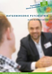Ratgeberserie Psychiatrie
