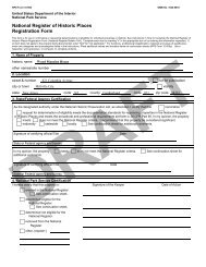 National Register of Historic Places Registration Form - State of New ...