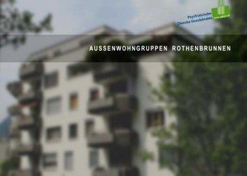 Aussenwohngruppen Rothenbrunnen