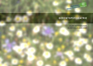 Gerontopsychiatrie