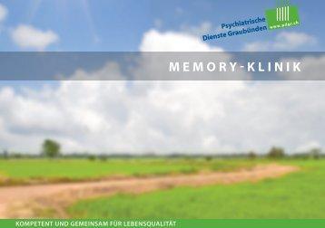 Memory-Klinik / Demenzabklärung