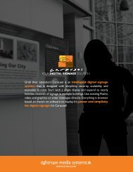 Carousel Brochure - PRWeb