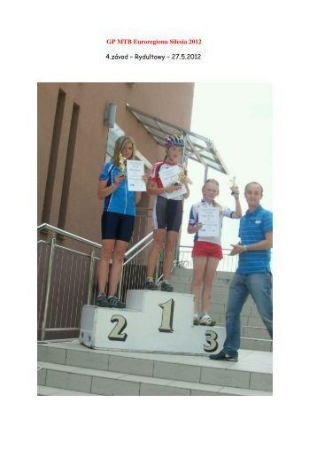 Wyniki - 4 edycja GP MTB Euroregionu Silesia 2012 - Rydultowy