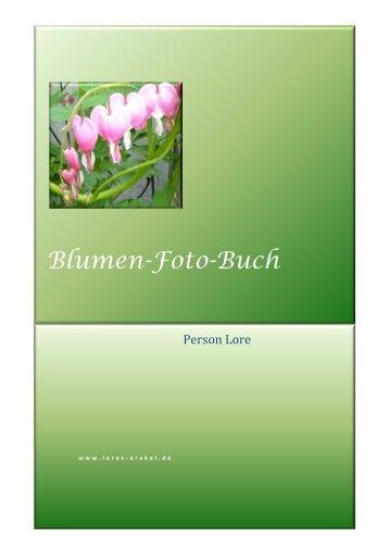 Blumen-Foto-Buch