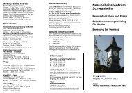 Download Flyer - Selbsthilfe-Kontaktstelle Frankfurt