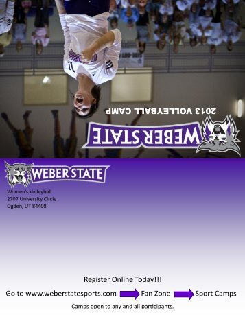Volleyball Camp - Weber State University Athletics