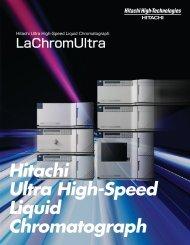 LaChromUltra Ultra High-Speed Liquid Chromatography