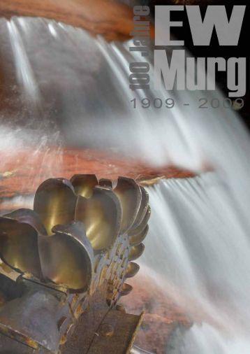 Broschüre 100 Jahre EW Murg - Text ARTelier & Medienbüro