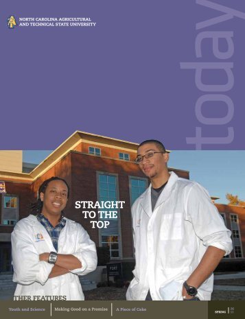 STRAIGHT TO THE TOP - North Carolina A&T State University