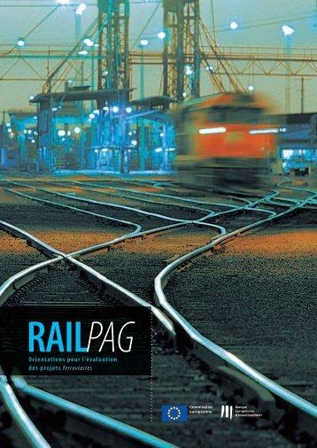 RAILPAG - Orientations pour l'évolution des projets ferroviaires