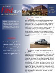 Fast NEWS - City of Auburn