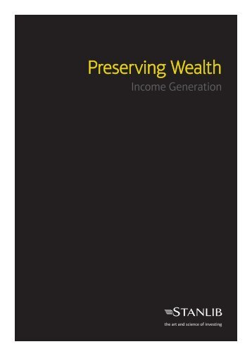 Preserving Wealth - Stanlib