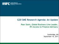 G20 SME Research Agenda - Innovations for Poverty Action