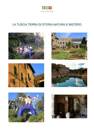 LA TUSCIA TERRA DI STORIA NATURA E MISTERO - Try Nature