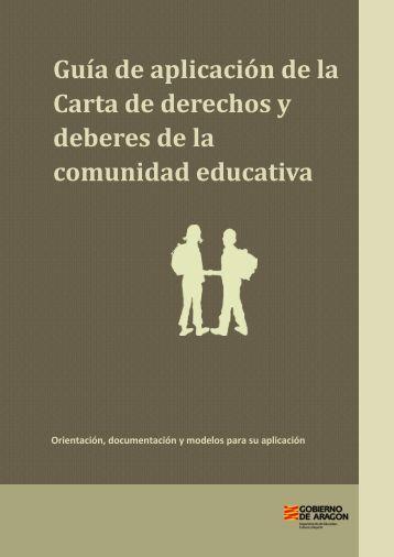Guía de aplicación de la Carta de derechos y deberes de la ...