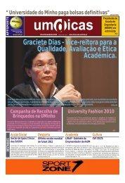 Jornal UMdicas nº86, de 29 de Novembro de 2010