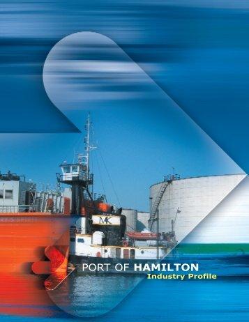Port of Hamilton Industry Profile - Hamilton Economic Development