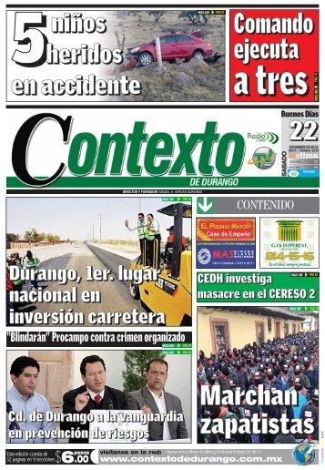 22 - Contexto de Durango