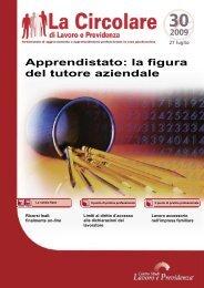 Apprendistato: la figura del tutore aziendale - Centro Studi Lavoro e ...