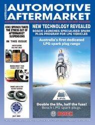 AM MAGAZINE SHELL - Australian Automotive Aftermarket Magazine
