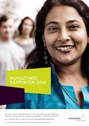 NOVOZYMES RAPPORTEN 2010