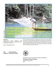 Pemberdayaan Masyarakat Sekitar Hytan - Biology East Borneo