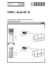 CEREC / inLab MC XL - Dental Union
