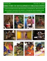 directory of development organizations - ONGs em Notícias