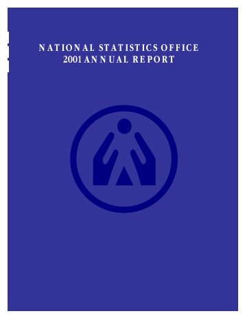 NATIONAL STATISTICS OFFICE 2001 ANNUAL REPORT