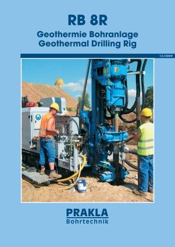 Geothermie Bohranlage Geothermal Drilling Rig