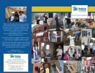 Faith Brochure.indd - Habitat for Humanity of the Chesapeake