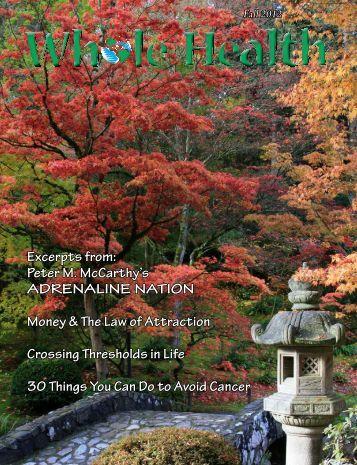 Fall 2012 - Enjoy Whole Health