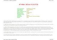 AF Nikkor 180 mm f/2.8 IF ED